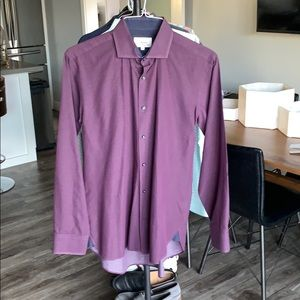 Men's l/s Ted Baker Dress shirt. Size 15.5 (Lg)